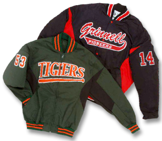 Custom Award Jackets and Custom Outerwear from Delong Sportswear